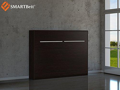 Schrankbett Smartbett Gästebett 140cm Horizontal Wenge Günstig Kaufen