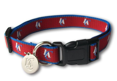 Sporty NBA Los Angeles Clippers Reflective Dog Collar, Large