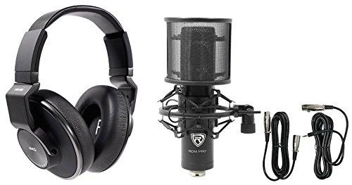 AKG K553 MK2 MKII Studio Monitoring Headphones+Recording Condenser -