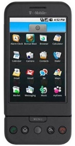 T-Mobile G1 Android Phone, Black (T-Mobile)