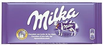 Amazon.com : Milka (Germany) - Alpenmilch (Milk Chocolate) 3-Pack ...