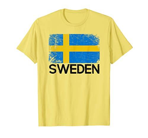 Swedish Flag T-Shirt | Vintage Made In Sweden ()