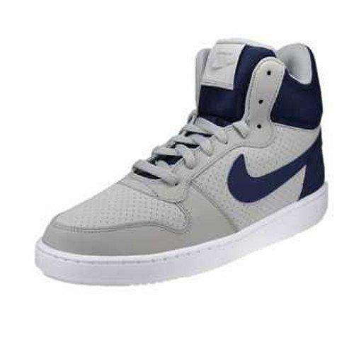 Scarpe Da argento Mid blu Court Borough Opaco Uomo Argenteo Basket Mezzanotte Nike wStOqIFx