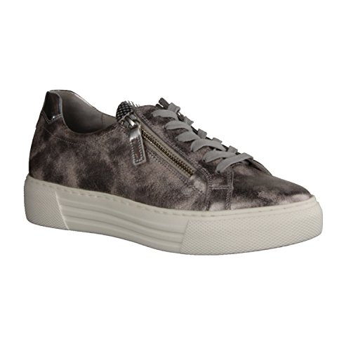 Gabor Damen Sneaker Rose/argento