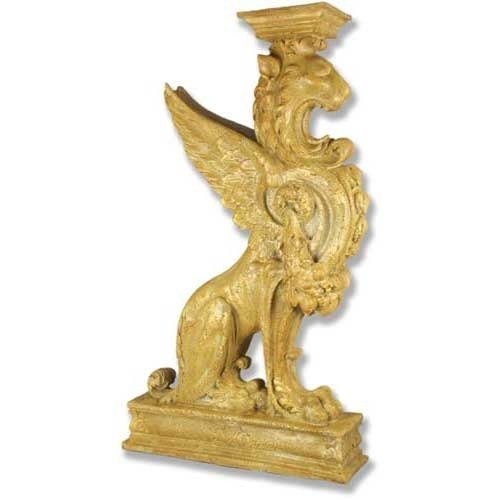Orlandi Statuary Griffin Pedestal- Colossal ()
