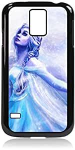 Zheng caseElsa Painting-Hard Black Plastic Snap - On Case with Soft Black Rubber LiningGalaxy s5 i9600 - Great Quality!