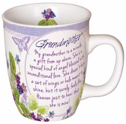 Carson Home Accents 92373 Mug-You Are Loved-Grandmother With Gift Box