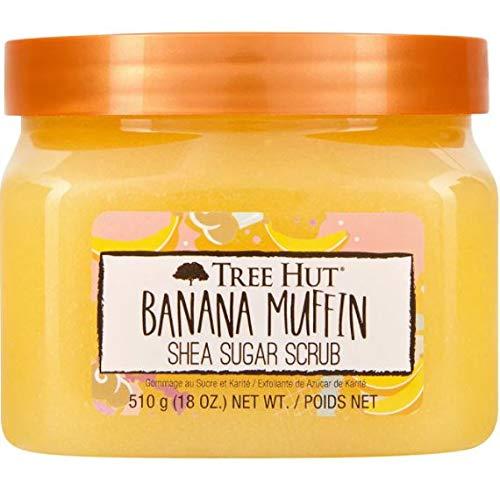 Tree Hut Banana Muffin Shea Sugar Scrub 18 Oz! Formulated With Real Sugar, Certified Shea Butter And Banana Extract…