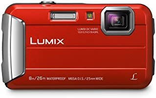 PANASONIC LUMIX Waterproof Digital Camera Underwater Camcorder with Optical Image Stabilizer, Time Lapse, Torch Light…