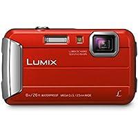 Panasonic Lumix DMC-TS30 16.6MP 720p Digital Camera with 4x Optical Zoom (Red)