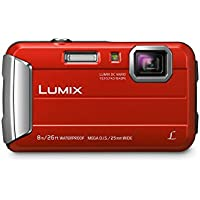 Panasonic DMC-TS30R LUMIX Active Lifestyle Tough Camera (Red)
