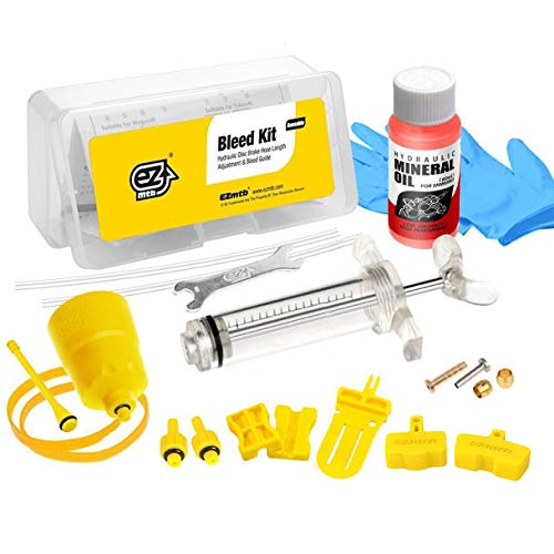 Revmega Bleeder Hydraulic Disc Brake Bleed Kit Tool fit Shimano - Inc. Mineral Oil Fluid