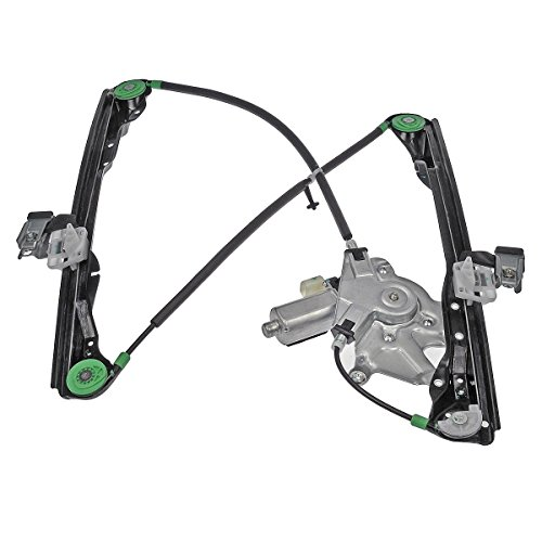 Laprive Auto 1pc Front Passenger (Right) Side Power Window Regulator w/Motor for 00-02 LS -