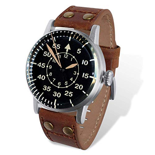 db8ef7526928 Reloj Wartime Luftwaffe (Réplica histórica modelo B-Uhren aviación alemana  II Guerra Mundial)