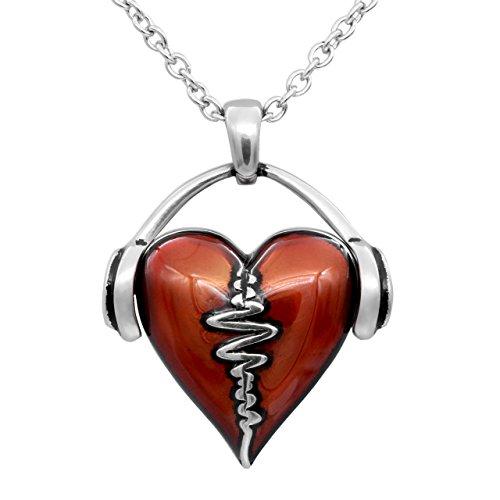 Controse Heartbeat Heart Necklace