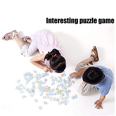 Classic Jigsaw Puzzle 1000 Piece Wooden Adults Children Puzzles-Two Trains-Art DIY Leisure Game Fun Toy Gift Suitable Family Friends: Toys & Games