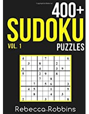 Sudoku: 400+ Sudoku Puzzles with Easy, Medium, Hard, and Very Hard Difficulty Levels: Volume 1