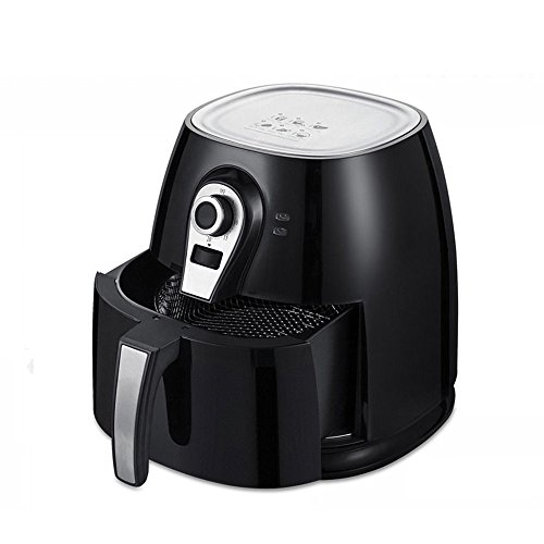 1400W Electric Air Fryer 4L 3.8QT Capacity with Timer and Te