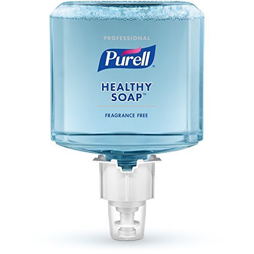 PURELL Professional HEALTHY SOAP Refill - Mild Foam, 1200mL Refill for ES6 Dispenser (Pack of 2) - 6474-02 by Purell