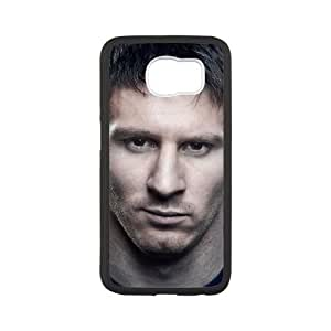 Lionel Messi Samsung Galaxy S6 Cell Phone Case White QFN