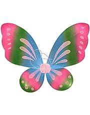 ZS ZHISHANG W kształcie anioła lub motyla wróżki kolorowe skrzydła cosplay kostium maluch przebranie maskarada karnawał impreza