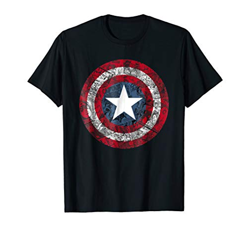 Captain America Shirts (Marvel Captain America Avengers Shield Comic Graphic)