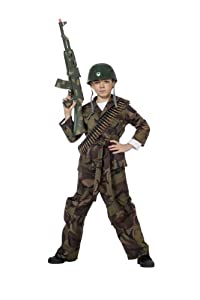 soldier green boys army commando kids fancy dress party outfit halloween costume - Boys Army Halloween Costumes