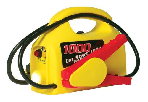 - Clore CS1000 CarStart Ultra-Portable 900 Peak Amp Jump Starter with 12-Volt  Power and Flashlight