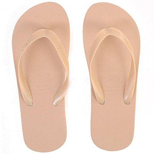 Zohula Cream Flip-flops - Sandalias de Caucho para mujer crema crema 35 1/3 EU