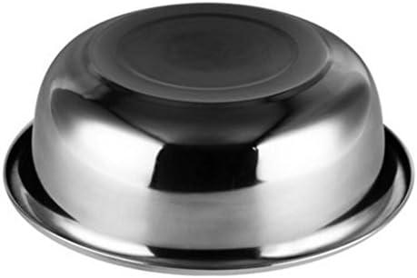 Liuyu Kitchen Home Pot d'acier inoxydable rond approfondir le lavabo plus épais Lavabo Bassin de mélange Lavage de légumes Pots 3 pièces/ensemble