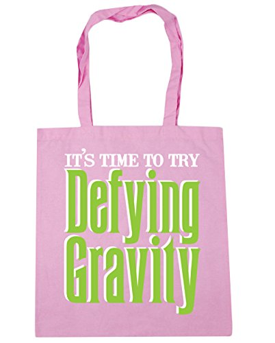 Shopping HippoWarehouse Bag Pink Gym Tote litres x38cm to 42cm Classic 10 Try Beach Defying Time It's Gravity RrRwq0x