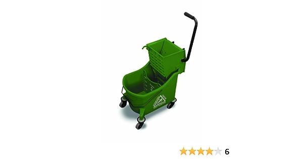 Amazon Com O Cedar Commercial Maxi Plus Mop Bucket And Wringer Green Home Kitchen