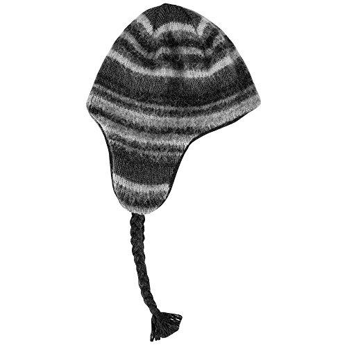 Icewear Gilsá Icelandic Wool Hat (L/XL, Black) ()