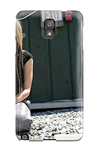 High Impact Dirt/shock Proof Case Cover For Galaxy Note 3 (celebrity Avril Lavigne)