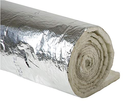 Duct Insulation, 1-1/2In x 48In x 25Ft ()