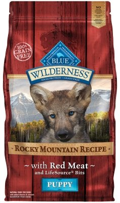 """WILDERNESS ROCKY MOUNTAIN RED MEAT PUPPY 4LB """"Ctg: OTHER PET FOODS - BLUE BUFFALO DOG DRY"""""""