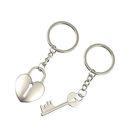 Llavero de llave para el candado para pareja/amante en el ...