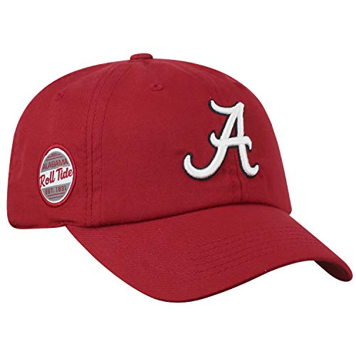 - Top of the World Alabama Crimson Tide Official NCAA Adjustable Red EST. 1831 Staple 4 Hat Cap 745183