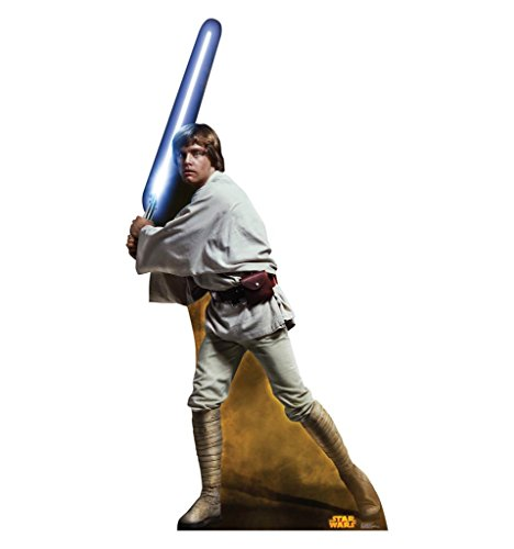 UPC 082033018023, Luke Skywalker - Star Wars Classics Retouched - Advanced Graphics Life Size Cardboard Standup