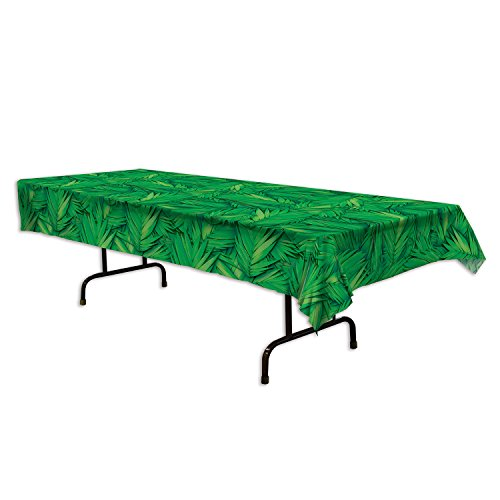 Palm Leaf Table Cover (54 In. X 108 In.)]()