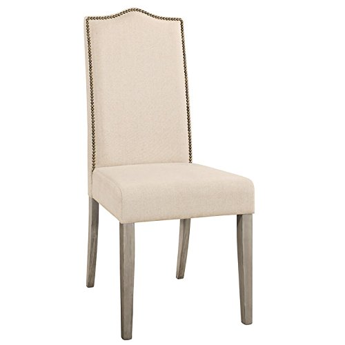 Carolina Chair and Table Romero Parson Chair in Weathered Gray by Carolina Chair & Table
