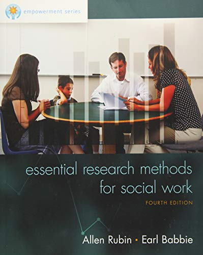 Empowerment Series: Essential Research Methods for Social Work ()