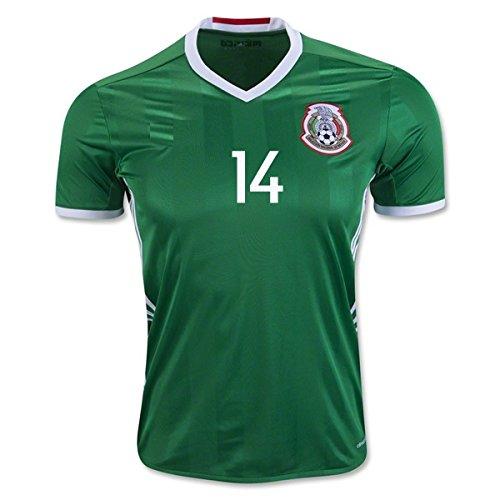 M XL New  Copa America Centenario 2016 Mexico  Soccer Home Jersey S 2XL L