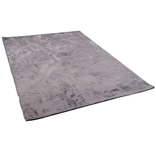 Pergamon Pergamon Pergamon Luxus Super Soft Fellteppich Plush Grau in 7 Größen B07P2HF6VD Teppiche 38e92a