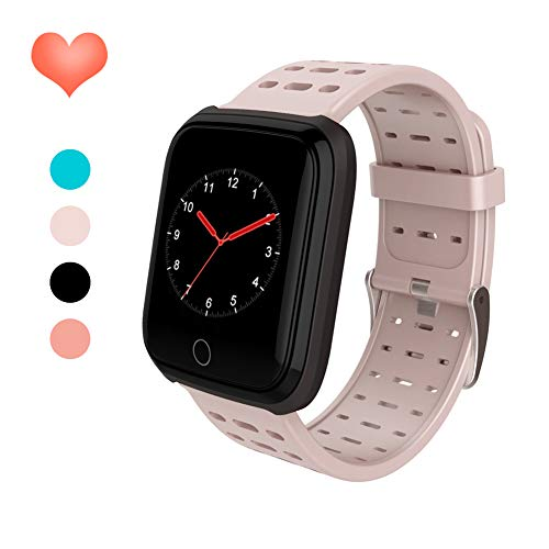 HuaWise Fitness Tracker HR, Activity Tracker Watch with Heart Rate Monitor, SmartWatch with Step Counter,Pedometer Fit Watch for Women Men Kids