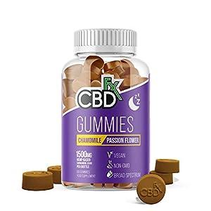 CBDfx Chamomile & Passionflower Sleep CBD Gumm...