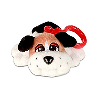 Discovery Kids Pound Puppies : Clip-on`s White, Black and Brown