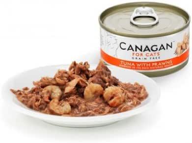 Lata para gatos Canagan de pollo y salmón (12 x 75 g): Amazon.es ...
