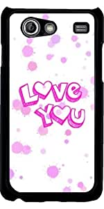Funda para Samsung Galaxy S Advance (i9070) - Te Amo by More colors in life