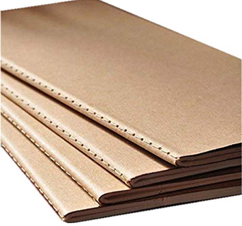 50 pieces blank notebook daily memos travel journal notebook 4.33x8.26 Inch by kensux (Image #1)